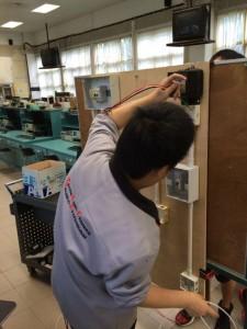 初級維修電工實習2