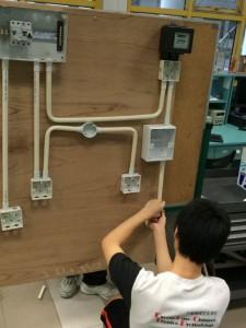 初級維修電工實習3