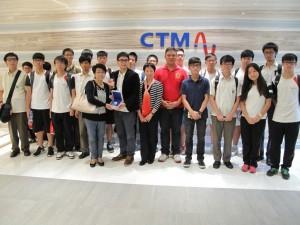 電腦課程同學參觀澳門電訊公司