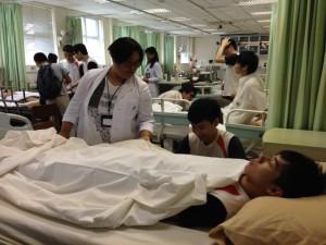 學習照顧病患者