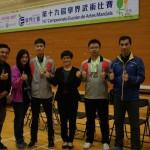 獲獎同學與頒獎嘉賓及老師合照