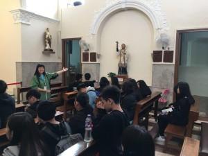 聖方濟各教堂內
