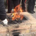 同學們主動生火開爐2