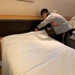 職導課程學生為投入職場作準備 參觀酒店及進行房務工作培訓