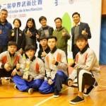 恭賀武術課程同學在第二十二屆學界武術賽中奪佳績